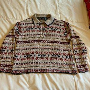 Woman's heavy sweater